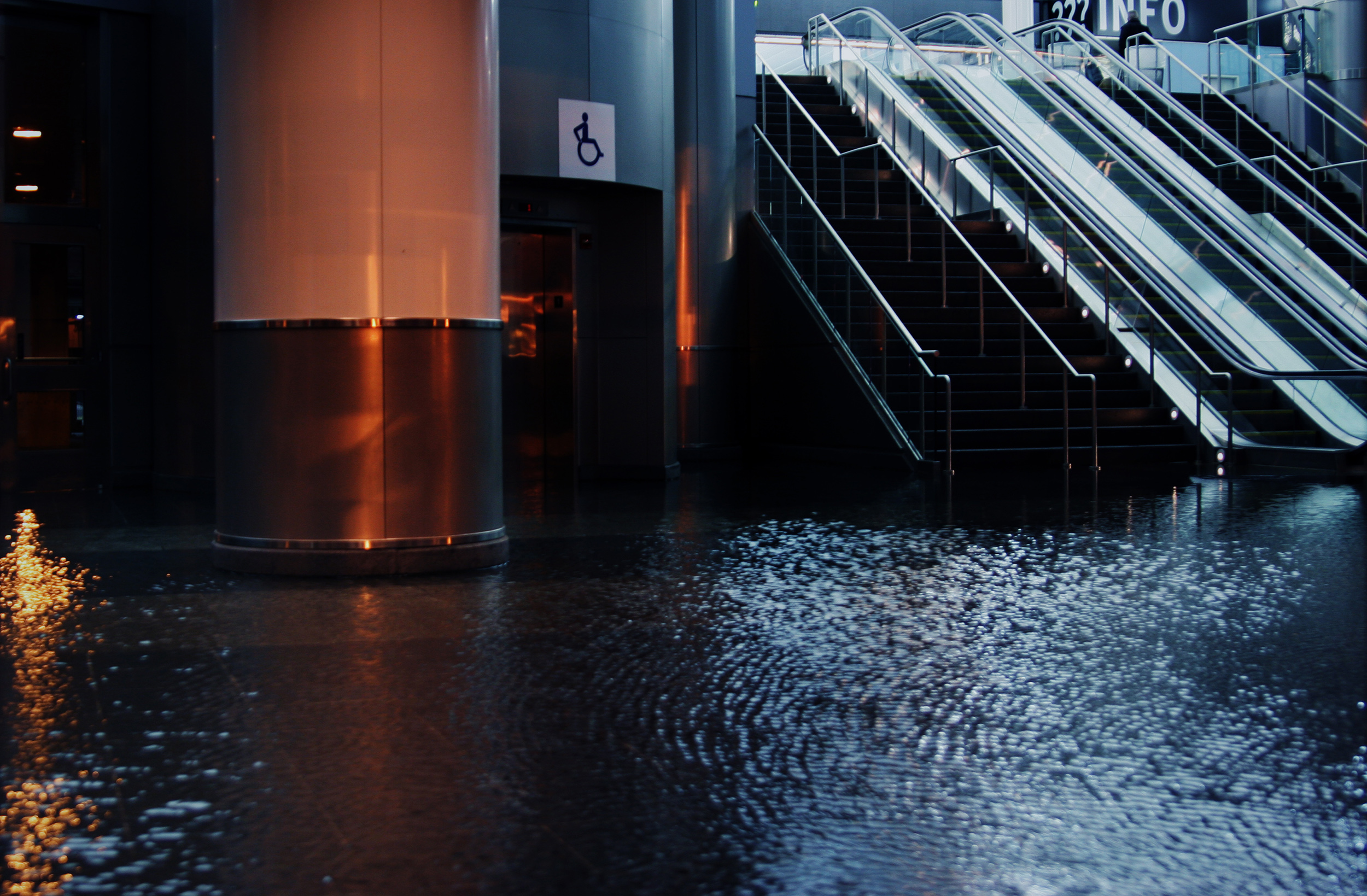 commercial building flood